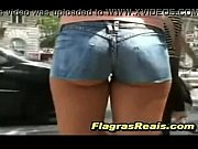 Jean Shorts Minissaias Fios Dentais (Flagras Reais)(Brasil)