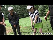 Golfing can be fun when the clubs get sucked