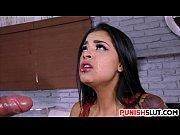 demoralized face fucked and slapped latina teen nikki kay