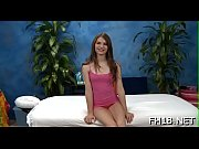 Slutty teen gets drilled hard by rubber