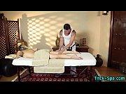 Gorgeaous teen massaged