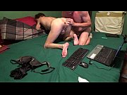 Husband Fingers Wife and Licks Clit
