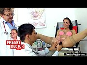 Czech teen Misa receives twat check-up at gynecology