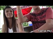 Thai chick gets scored and banged