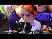 Three Cum hungry sluts used and shared German Goo Girls