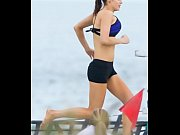 Alexandra Daddario in Shorts on the Set of &lsquo_Baywatch&rsquo_ in Georgia