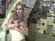 Hot blonde amateur shows off her tits- More at MYFREEFETISHCAM.COM