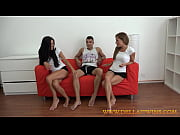Hot twins share a dick