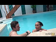 HUNT4K. Cuckold swims while handsome stranger has fun with his girl