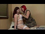 Busty tranny Tiffany Starr fucked chubby redhead woman