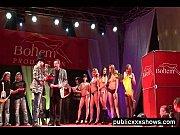 topless erotic sex show