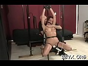 Slutty petite hotty gets enslaved by a large bold dude