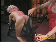 Busty dominatrix surrenders herself to a friend in a bdsm session-6