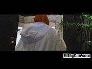 Redhead blowjob slut