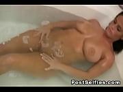 Horny Wife Filmed By Neighbor While Naked Inside The Bathtub