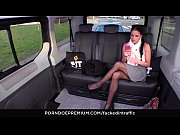 FUCKED IN TRAFFIC Czech babe Eveline Dellai in hot revenge sex in the car