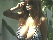 Alexis Love aka Joyce Mandell topless by the pool