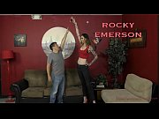 thumb 6 Foot 3 Roc ky Emerson Dominates Her Short Roomate   Femdom And Ass Worship
