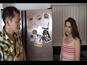 Lola Milano pussy fucking tits small in kitchen sexy girl