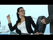 hot milf jasmine jae plays the sexy office.