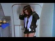 stewardess passenger doing masturbation watchimg sex