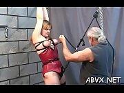 Neat dilettante women hard sex in thraldom extreme show