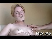 Girls get bounded together and titillated by a sex-toy