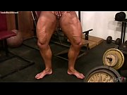 female bodybuilder lisa cross plays with her fucking.