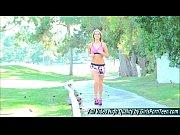 kenna porn blonde xxx show jogging.