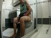 Enjoy my old mum at WC. Hidden cam