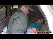 Latina border patrol and rough cop Pale Cutie Banging on the Border