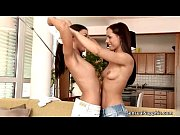 Two all natural horny teen babes love