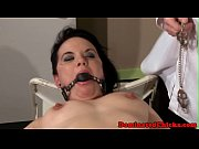 Gagging euro sub assfucked and punished