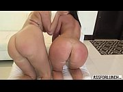 Lovely women Layla and Brittany gets their pussy slammed