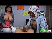Mia Khalifa teaches her muslim friend how to suck cock 3 92