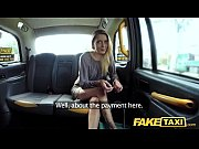 fake taxi new driver fucks hot blonde passengers.