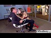 Busty Office Girl (nadia styles) Bang Hard Style At Work clip-24