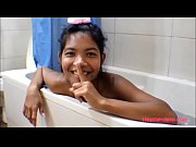 HD Thai Teen Heather Deep gives deepthroat and get asshole anal broken in shower with anal creampie new