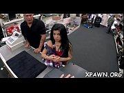 Angel is doing sex in shop