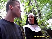 thumb Naughty German  Nun Loves Cock