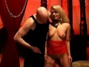 stunning blondie submissive babe whipped by her master a81