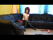 Naughty student Electra 18 at Casting in Z&uuml_rich