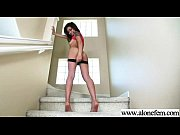 dildo sex toys use amateur girl to masturbate clip-05