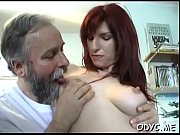hot old and young sex with cute babe.