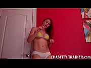 beg and i might let you out of chastity
