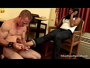 Kim gets her feet rubbed by white slave