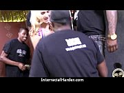 Real Latina MILF interracial sex tape 19