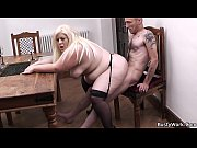 Big tits blonde loves riding boss&#039_s cock