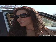 Soccer milf Victoria Valentino gets picked up from the parking lot