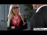 Busty Office Girl (nina elle) Get Busy In Hardcore Sex Scene clip-25
